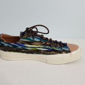 Converse Brown Multicolor Print Shoes 72620-2 S6